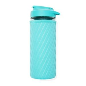 Masontops glass water bottle